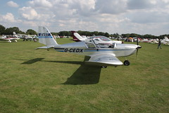 G-CEDX Evektor EV-97 [2006-2827] Sywell 020917