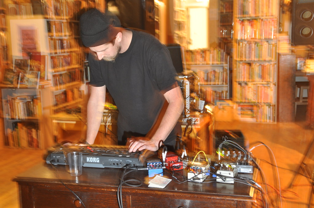 Jared Epp at Black Squirrel Books | Andrew Carver | Flickr