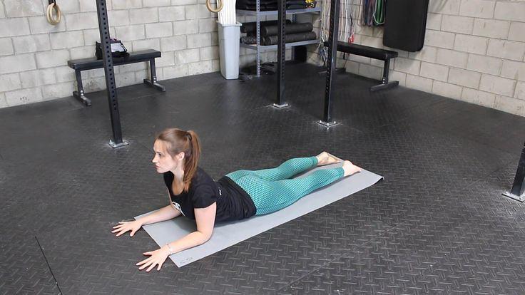 Yoga For Beginners  : Sphinx