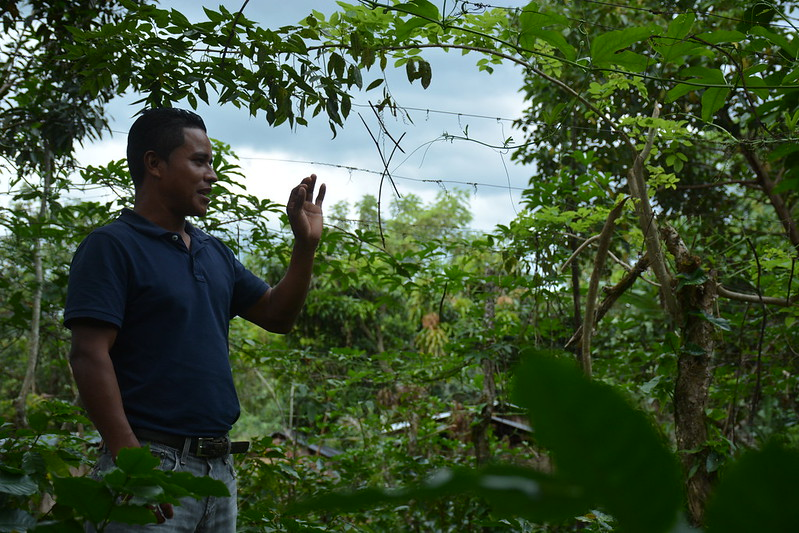 CCAFS Latin America visiting climate-smart villages in Central America