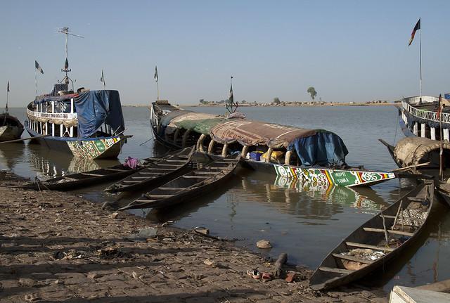 Mali, Mopti, Niger River