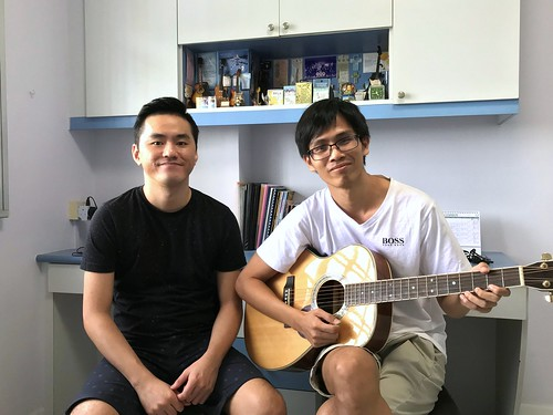 Adult guitar lessons Singapore Addie