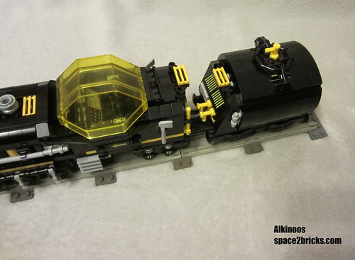 space train Blacktron p6