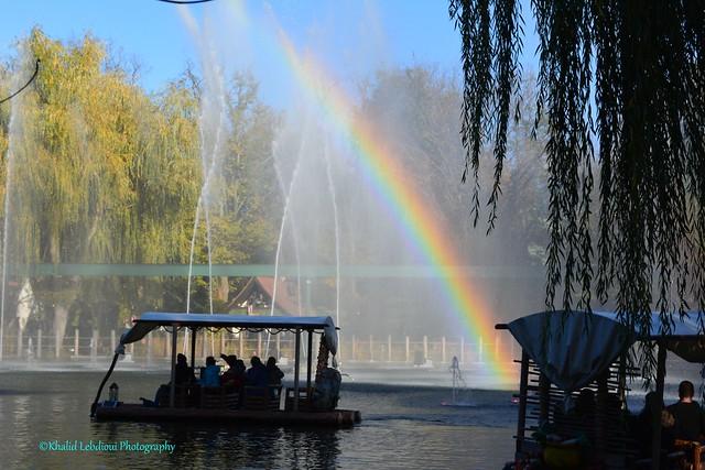Rainbow in europapark - Germany