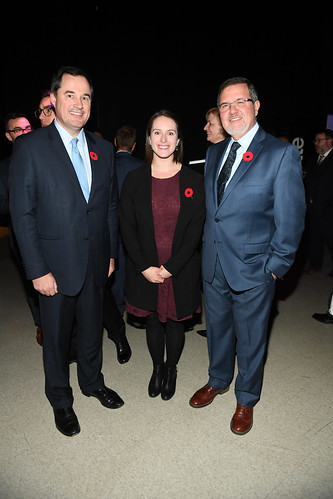 Bruce Ross, Andrea Palmer and Maurice Bitran | by RBC Innovators' Ball
