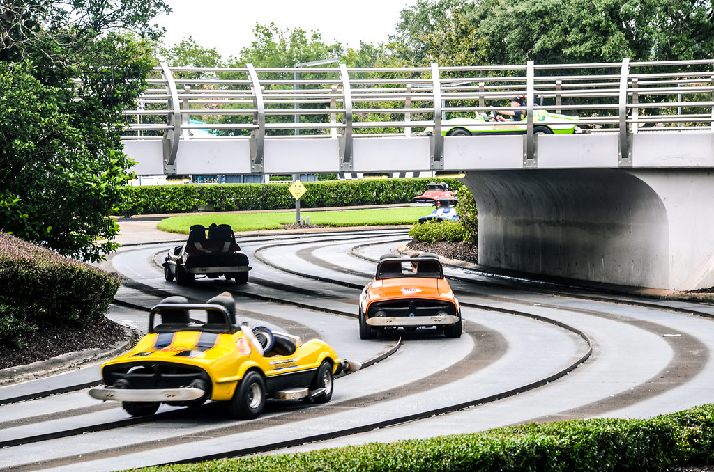 Tomorrowland Speedway cars MK