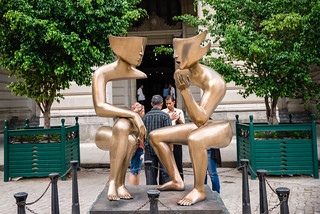 Conversation Sculpture | by Hattifnattar