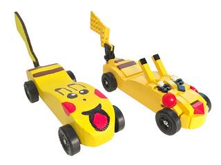 Brick Derby: Pikachu