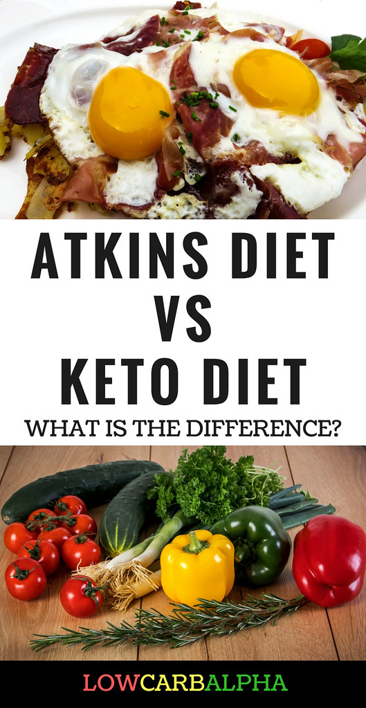Atkins diet vs keto diet | Salad of tomatoes, olives, cheese… | Flickr
