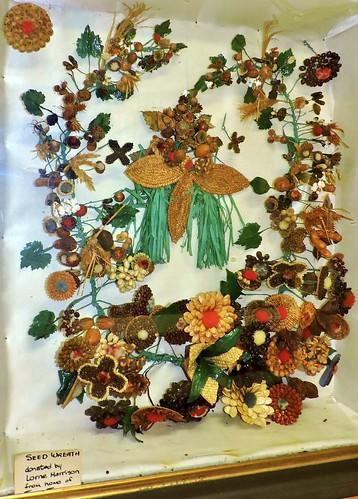 seeds wreath decoration mypics osgoodetownshipmuseum vernon osgoodetownship ottawa ontario canada