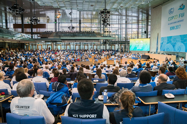 Recognition Ceremony for UN Volunteers supporting COP 23 in Bonn