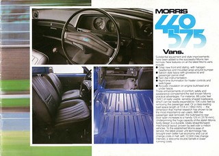Morris Ital 440 and 575 Pickup and Van Brochure 1983 (3) | by Trigger's Retro Road Tests!