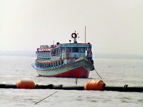 bangladesh fujifilm outdoor landscape summer sun river sky blue ship