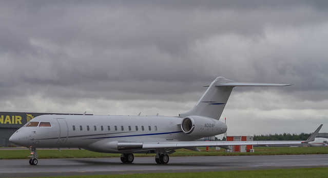Jet Aviation Services Bombardier Global 6000 N312AF