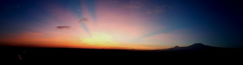 amboseli kenya mt kilimanjaro sun sky sunlight colours explore sunrise tanzania africa morning clouds
