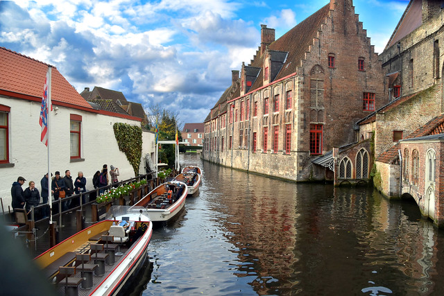Bruges by Canal Boat