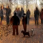 Möten , mitt bidrag på Galleri Skarpans - av evisdotter