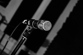 A Microphone in a Music Studio | by MeymiGrou