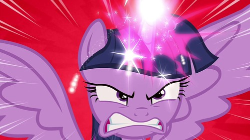 Twilight_angry_while_using_her_magic_S4E26 | by DReager100