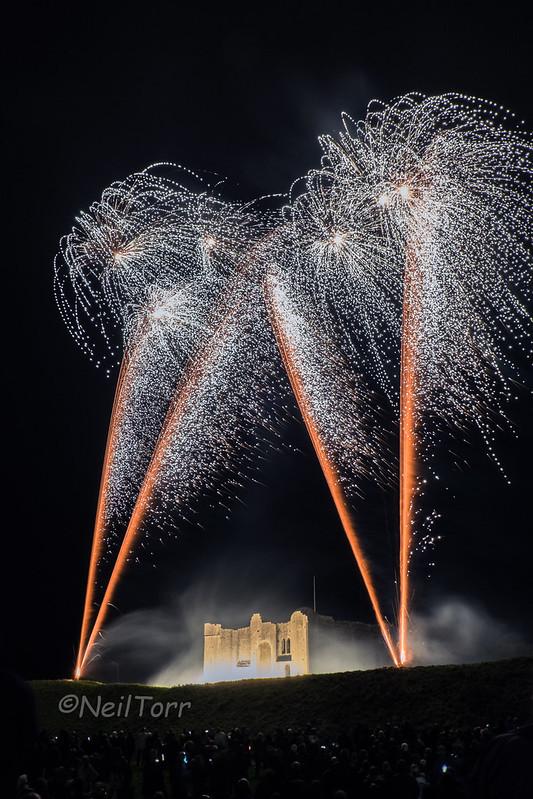 Castle Rising Fireworks 6