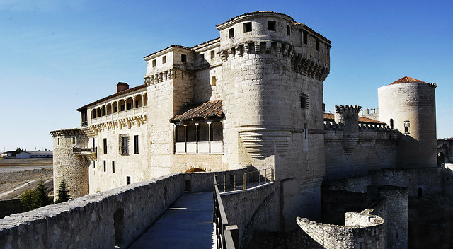 Castillo de los duques de Alburquerque (Cuellar)