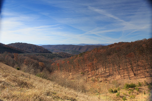 wv afternoon autumn country day daylight fall hills landscape mountain rural sun sunny route 48 corridorh