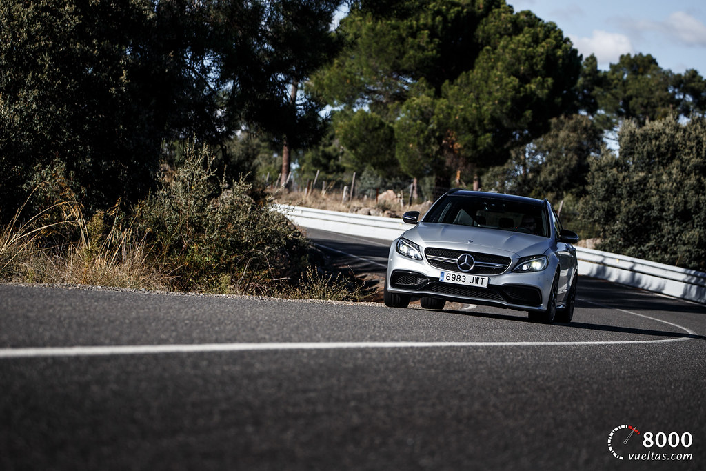 Mercedes C63 AMG S - 8000vueltas-1