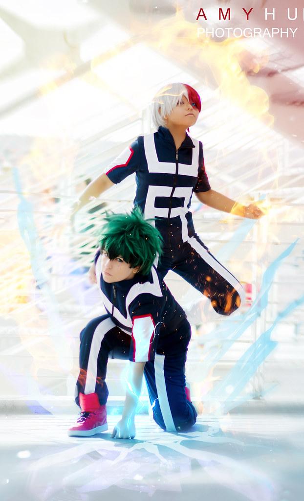 Boku No Hero Academia Cosplay Izuku Midoriya And Shoto Tod