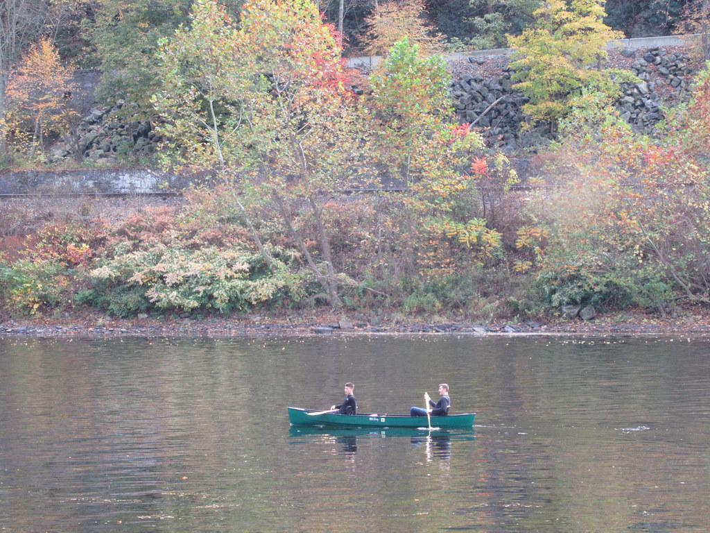 Solo Canoe, Delaware River, Delaware Water Gap, NJ/PA | Flickr