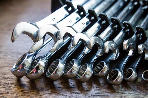 Wrench ratchet tool set | by wuestenigel