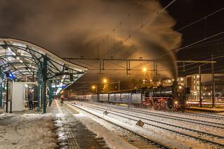 SSN 01 1075 met Kerstexpres, Apeldoorn   by Dennis te D
