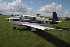 G-BJHB Mooney M.20J [24-1190] Sywell 010917