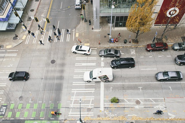 Intersection from above