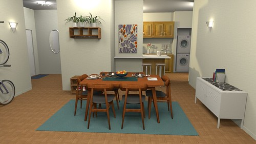 Dining room | by linoleum jet