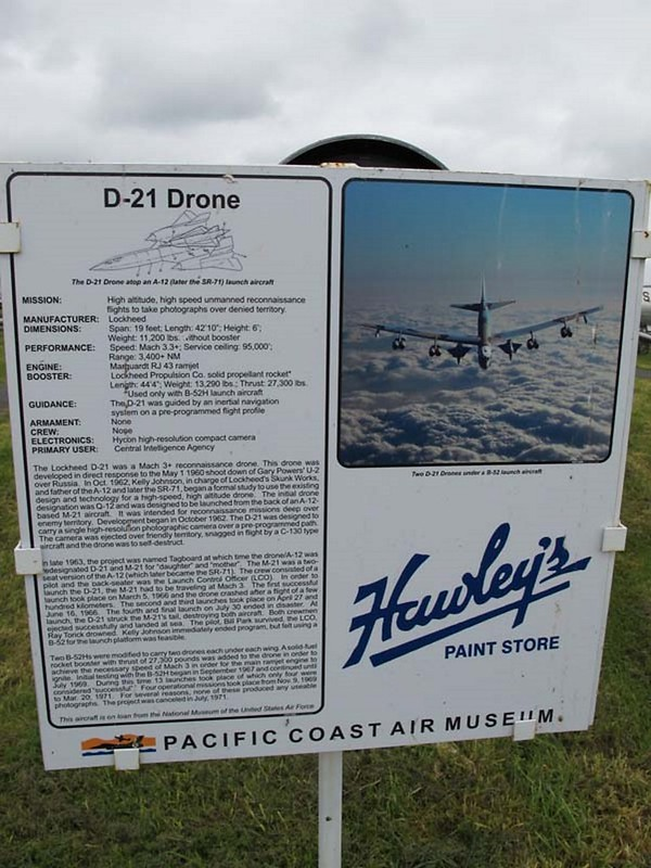Lockheed D-21 Drone 2