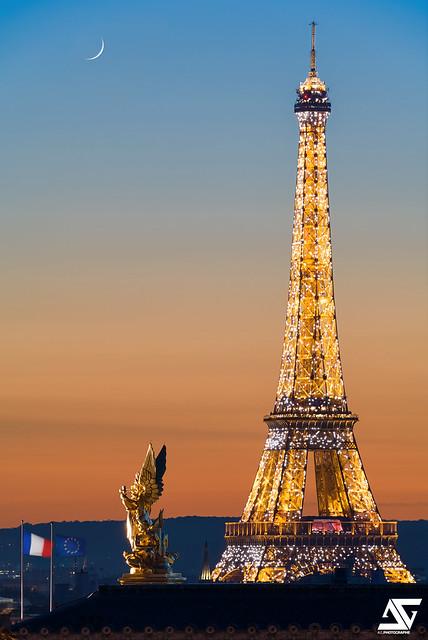 Tour Eiffel & Opéra Garnier II
