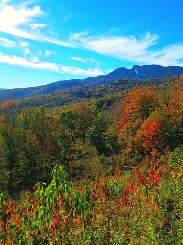 grandfathermountain fall colors blueridgeparkway northcarolina