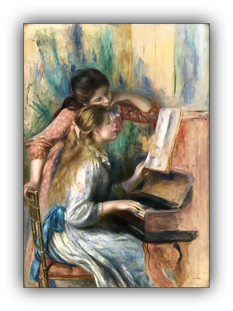 Jeunes filles au piano - 1892 (Renoir)