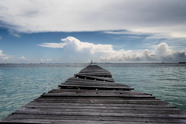 El viejo Muelle - The old pier