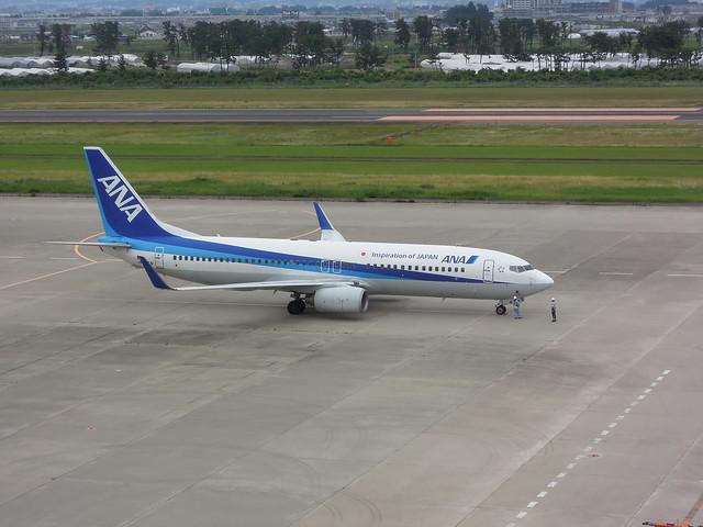 NH Boeing 737-800 JA66AN