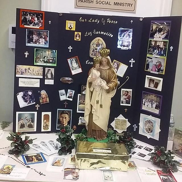 #lynbrookny #ourladyofpeaceparish #laycarmelites #Carmelite#carmelitani #catholicism #fundraiser #bakesale #craftsale