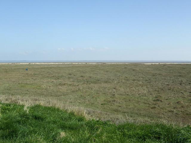 The coast near St Peter-on-the-Wall, Bradwell