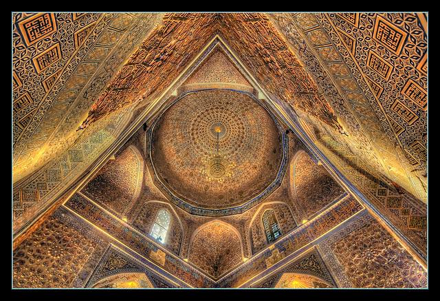 Samarqand UZ -  Gur-e-Amir Mausoleum 05