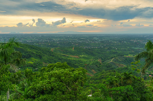 architecture asia church clouds landscape mountain nature panoramic park people philippines scenery travel tagaytay calabarzon ph