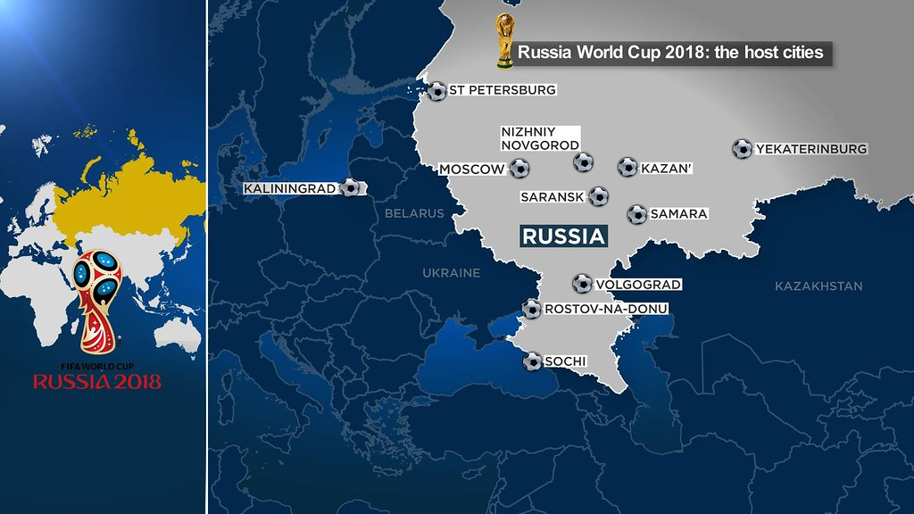 The 11 cities hosting Russia 2018 world cup | The football f ...
