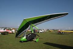 G-BZIM Solar Wings Pegasus [7678] Sywell 020917
