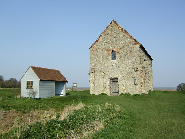 The Chapel of St Peter-on-the-Wall, Bradwell