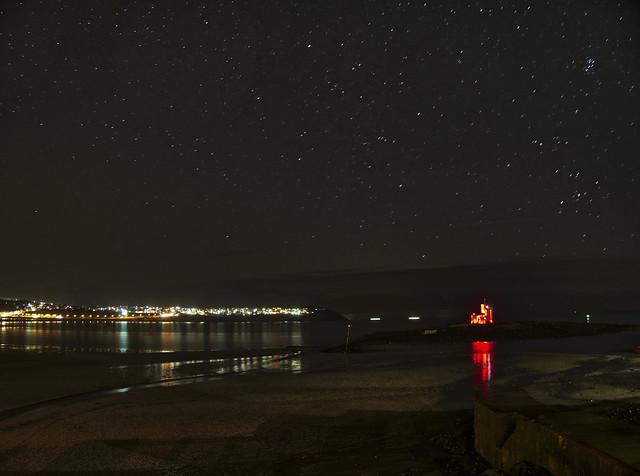Starry night, Douglas, Isle of Man
