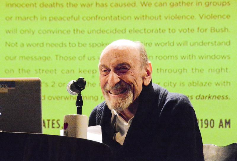 """Milton Glaser Discusses """"The Design of Dissent"""""""