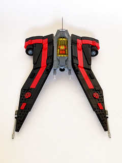 Aurek-Wing Fighter attack mode | by Oky - Space Ranger